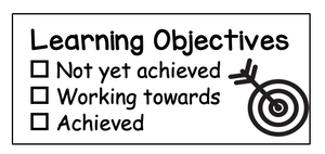 Rectangular Learning Intention Stamp