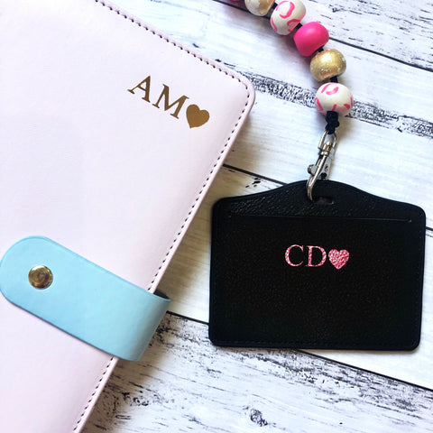 Planner and Card holder set (read description before ordering)