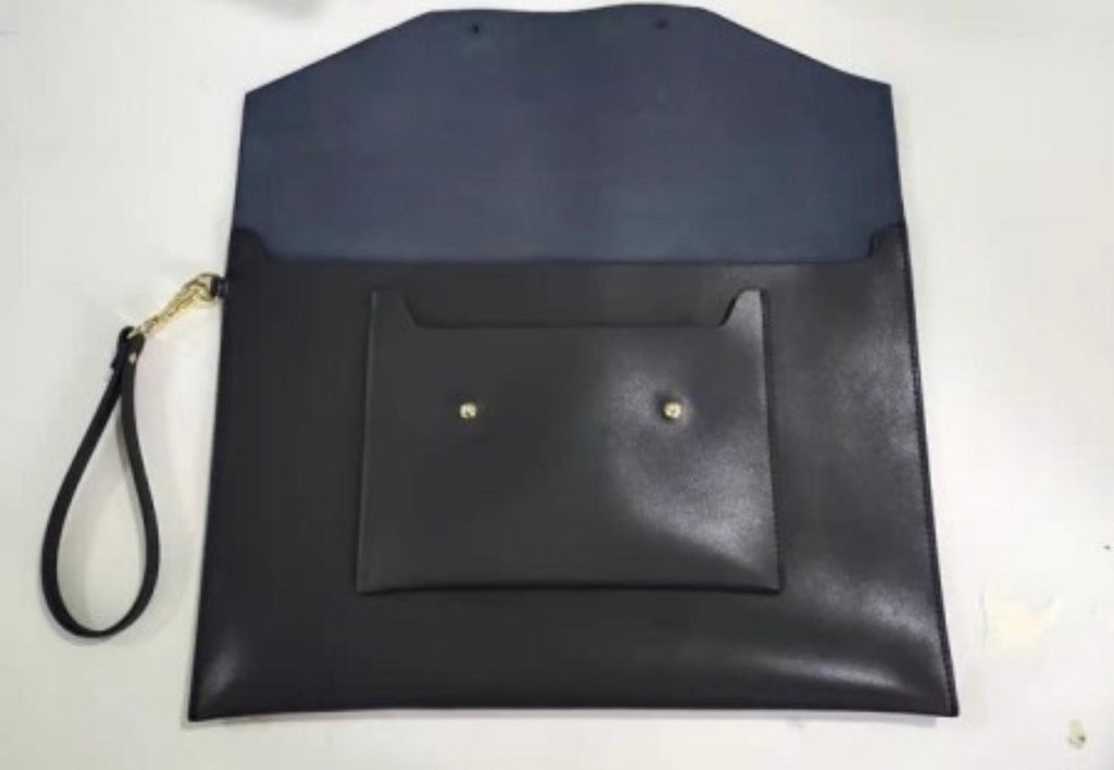Leather Laptop Pouch - 13 inch