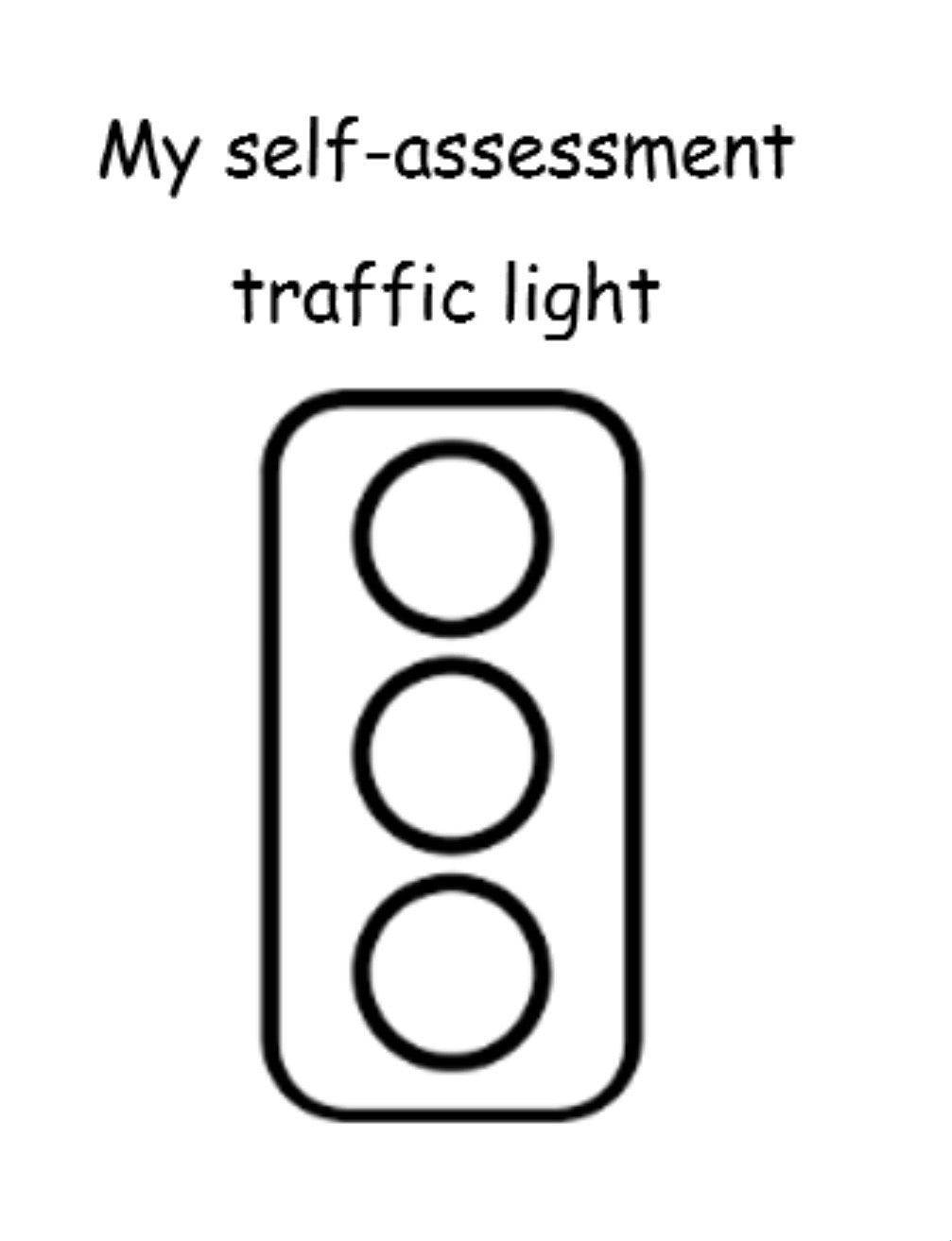 Traffic light Assessment Stamp