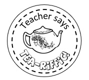 Teapot stamp 38mm