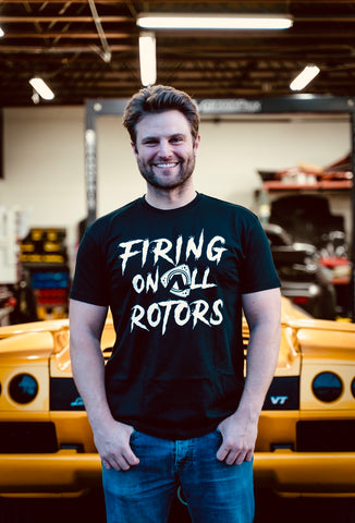 Firing on All Rotors T Shirt