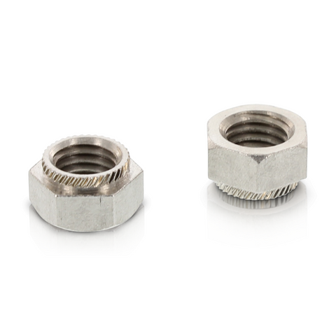Hexagon Insert Press Nuts M8