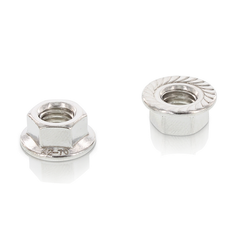 Hex Flange Nuts w Serration M10