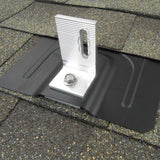 FlashGuard Shingle Flashing - Black Textured Powder Finish