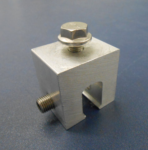 Aluminum Seam Clamp - Single Hole
