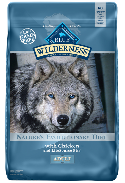 Blue Buffalo Wilderness Grain Free Chicken Recipe Dry Dog Food