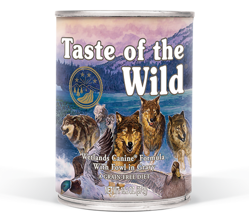 Taste Of The Wild Wetlands Canned Dog Food