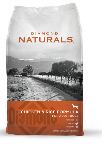 Diamond Naturals Chicken and Rice Formula Adult Dry Dog Food