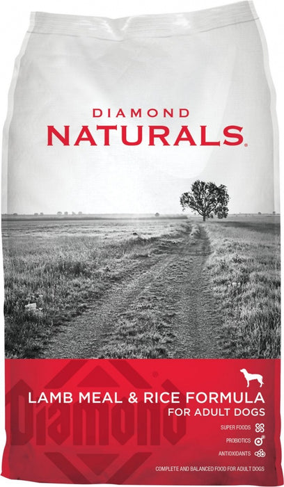 Diamond Naturals Lamb Meal and Rice Adult Dry Dog Food