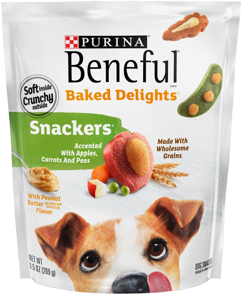 Beneful Baked Delights Snackers Dog Treats