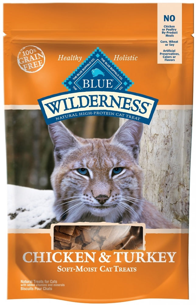 Blue Buffalo Wilderness Chicken and Turkey Cat Treats