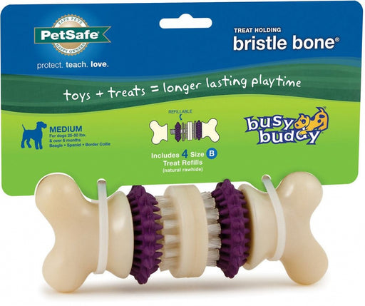 PetSafe Busy Buddy Bristle Bone Dog Toy