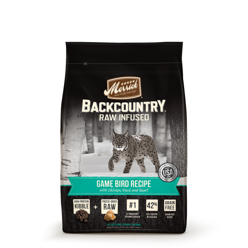 Merrick Backcountry Grain Free Game Bird Recipe Dry Cat Food