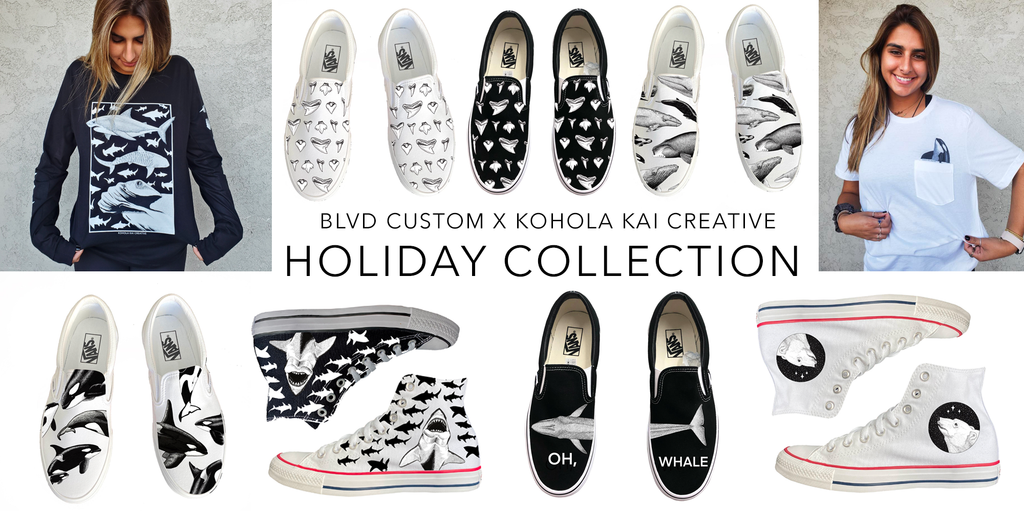 Kohola Kai Creative BLVD Custom holiday Collab