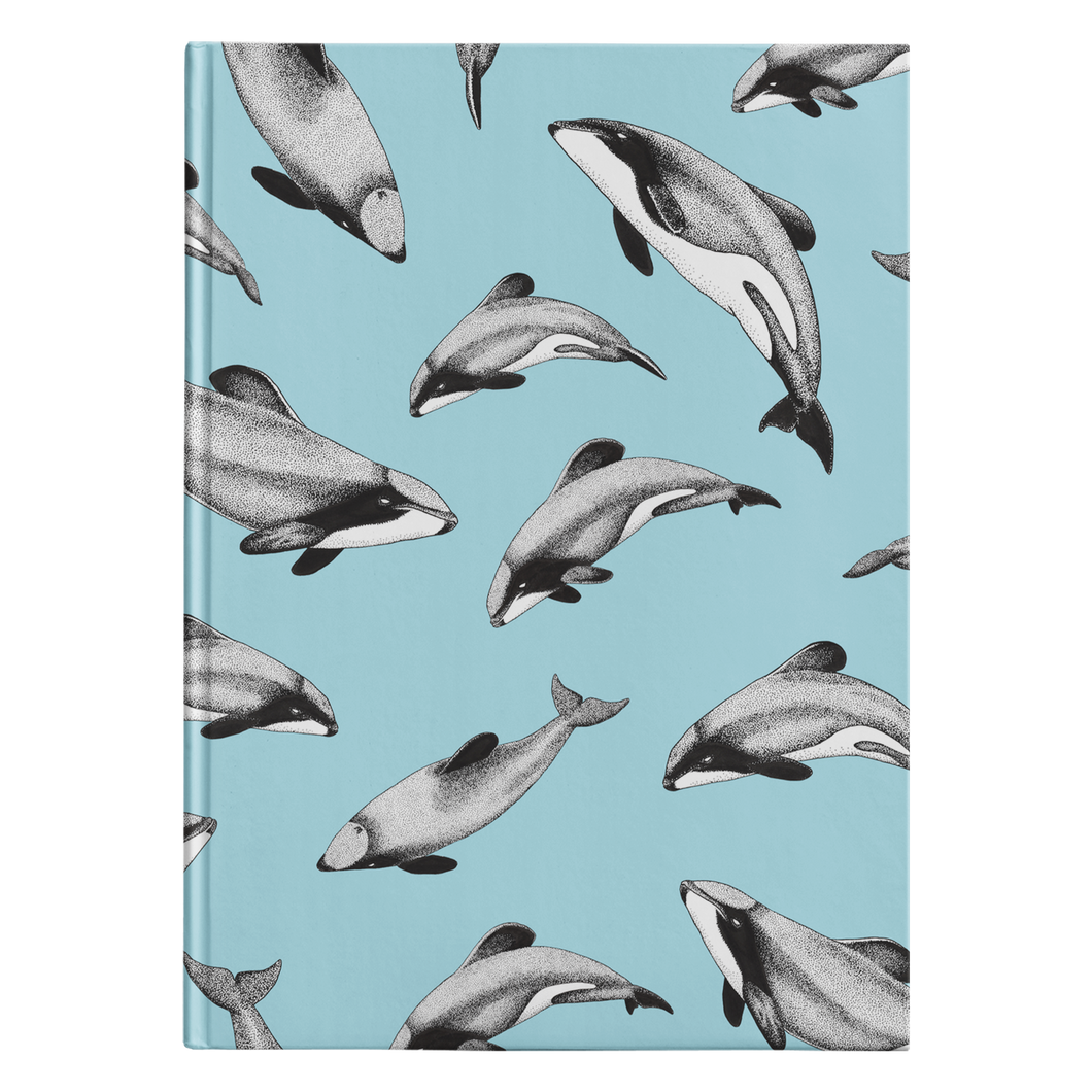 Hector's Dolphins Journal - Teal