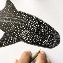 Load image into Gallery viewer, Whale Shark Ink Original