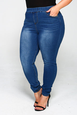 Tougher Than Most Jeggings, Plus Size