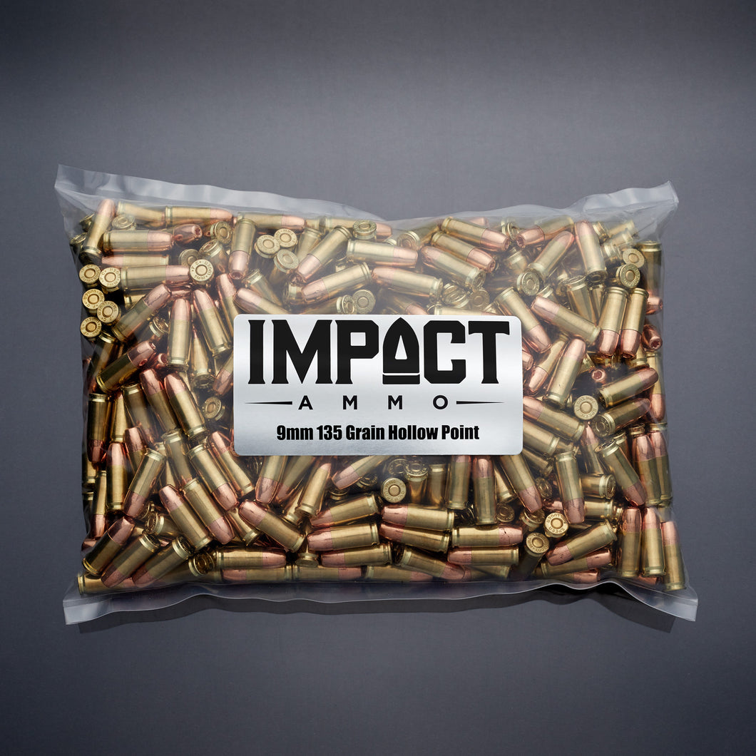 9mm 135gr Hollow Point (MPX) Shipped 1-2 weeks from order, or when components become available