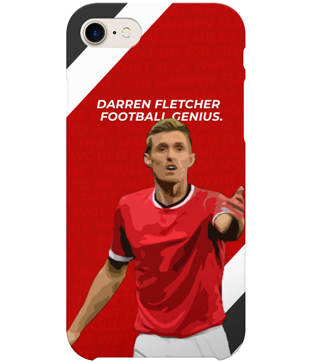 Darren Fletcher Football Genius Phone Case