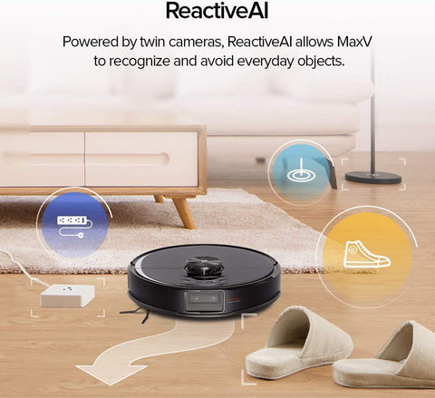 Roborock S6 MaxV Robotic Vacuum and Mop Cleaner Official Australian Model - Xiaomi Mobile App
