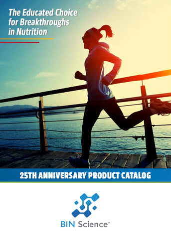 BIN Science 25th Anniversary Product Catalog