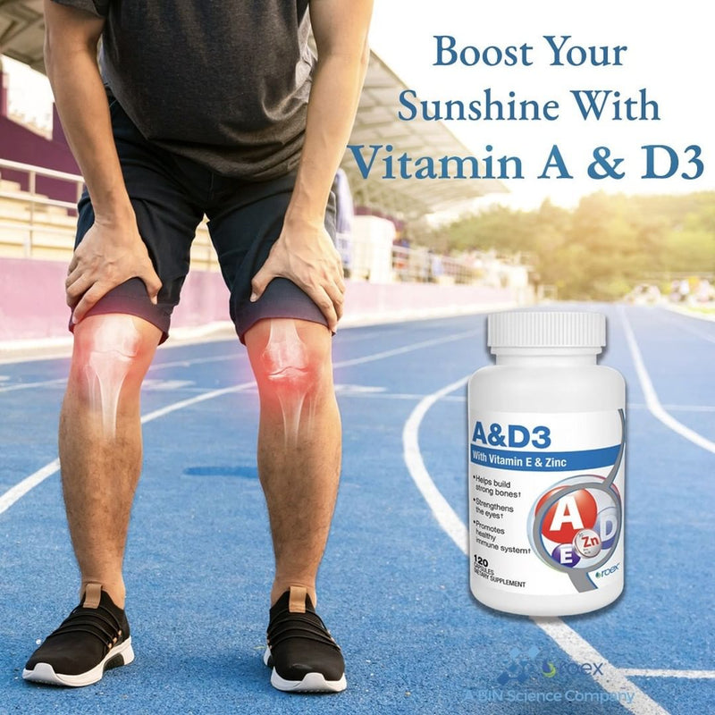 Vitamin A and D3 + E With Zinc