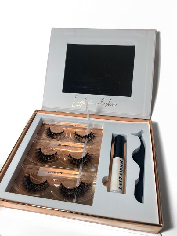 CUSTOMIZABLE LASH BOX