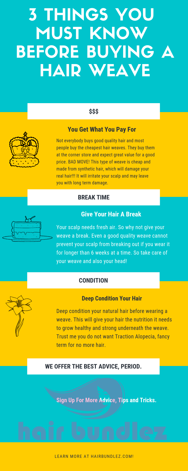 3 Things You Must Know Before Buying a Hair Weave