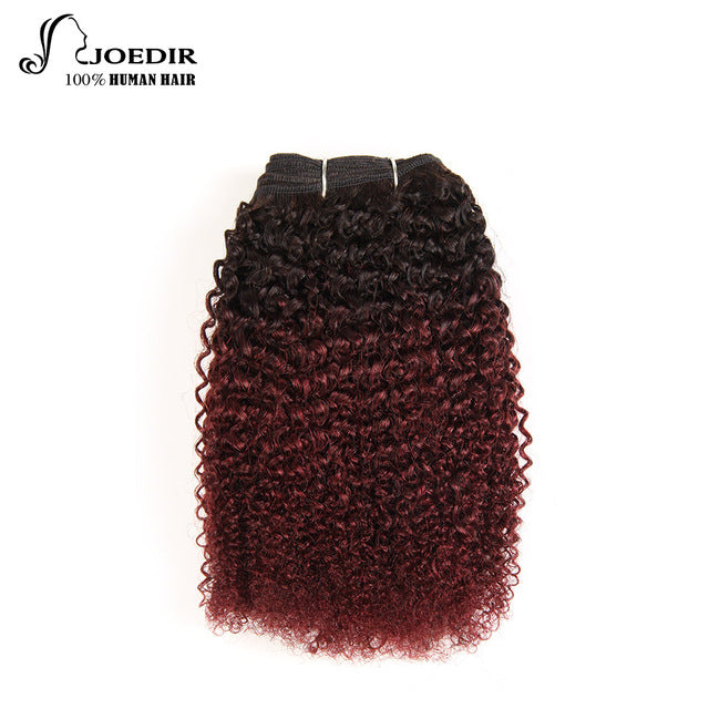 Ombre Brazilian Hair Weave, Natural Afro Kinky Style - HairBundlez