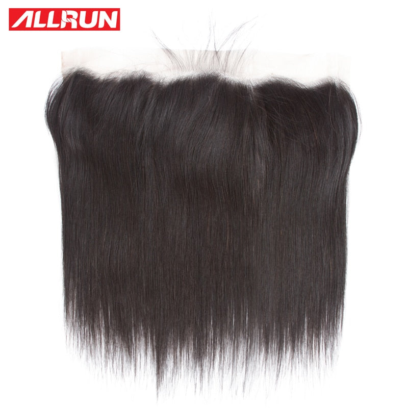 Brazilian Straight Hair Ear to Ear Lace Frontal Closure 13X4 - HairBundlez