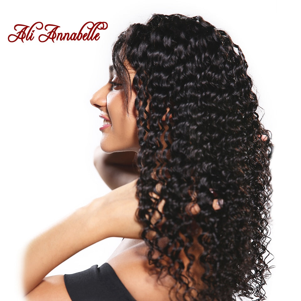 "Brazilian Deep Wave Virgin Hair 10"" to 28"" Inches - HairBundlez"