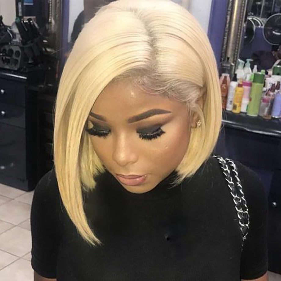 Short Lace Frontal Bob Wigs