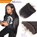 Straight Lace Frontal Closure With Baby Hair - HairBundlez