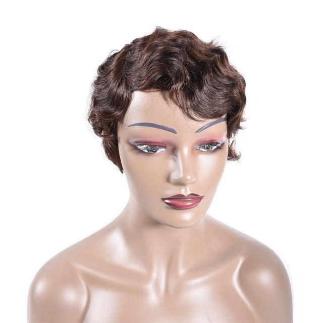 Short Finger Wave Wig - HairBundlez