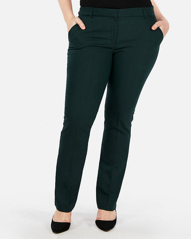 Mid Rise Barely Boot Columnist Pant in Amazon Green