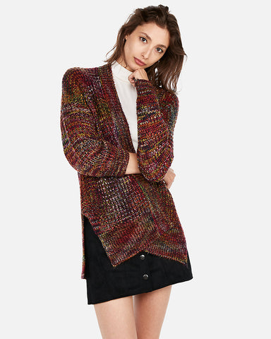 Rainbow Knit Cover-Up in Multi