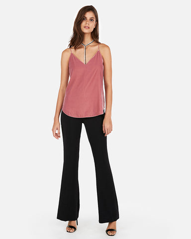 Velvet Downtown Cami in Rose