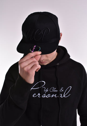 Up Close & Personal Snapback - Black/Black