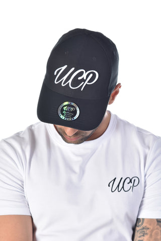 Up Close & Personal Clothing Baseball Cap -Black/White