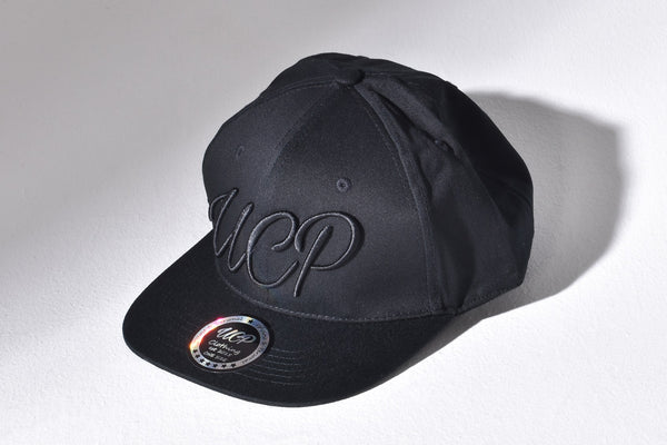 Up Close & Personal Clothing Snapback Cap - Black