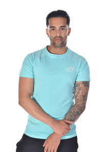 Up Close & Personal Clothing Aqua T-Shirt
