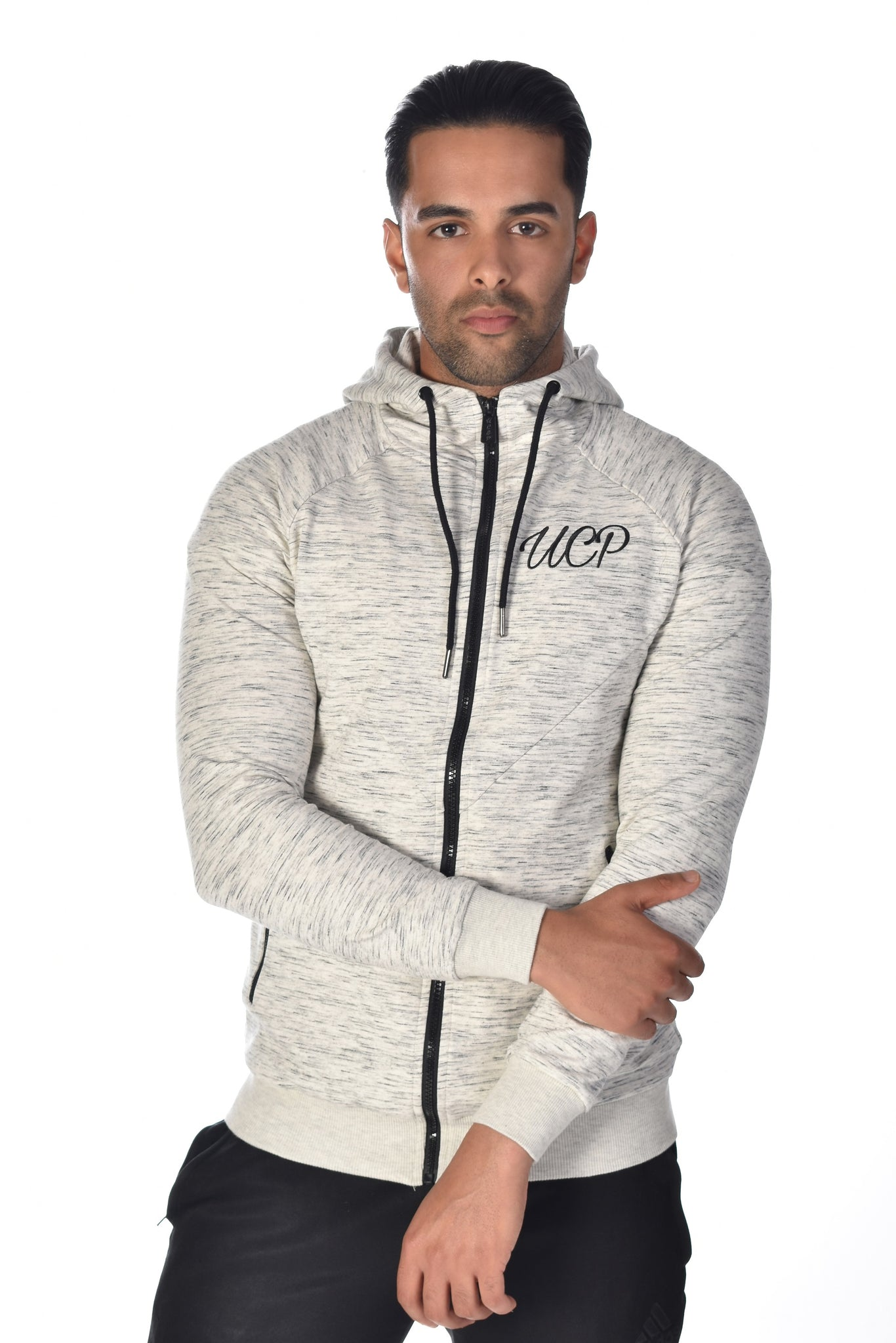 Up Close & Personal Clothing Hoodie - Grey
