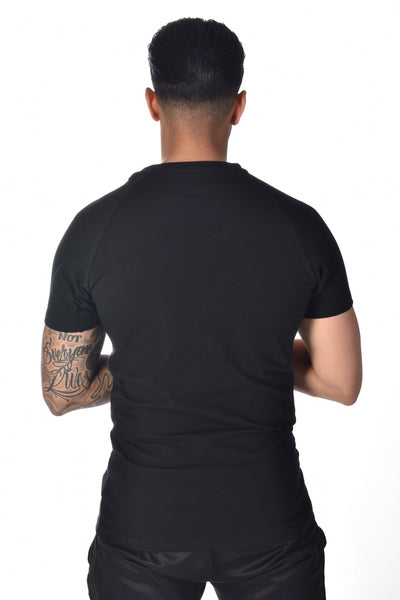 Up Close & Personal Clothing Black T-Shirt