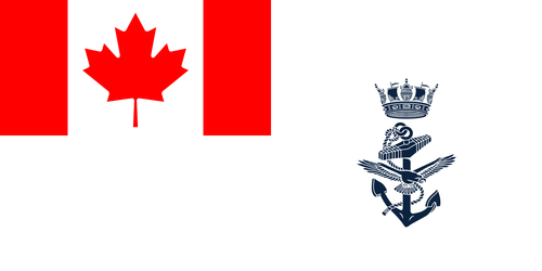 Canadian Navy Ensign Flag