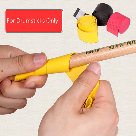 QCYQ Drumstick Grips Anti-slip Sweat Absorbed Drum Sticks Tape