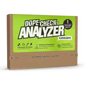 DOPE-CHECK Cannabis Analyzer 1 Fachlabor-Analyse