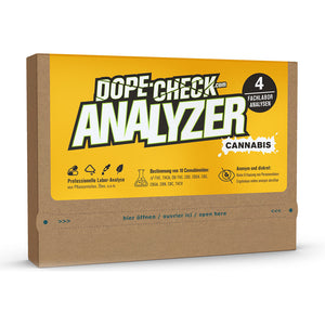 DOPE-CHECK Cannabis Analyzer 4 Fachlabor-Analysen