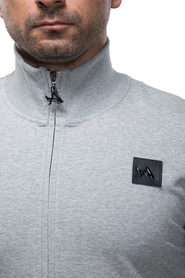 Full Zip Sweatshirt Grey