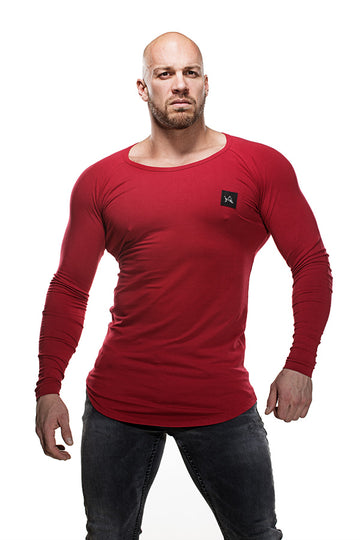 Bamboo Longsleeve Red